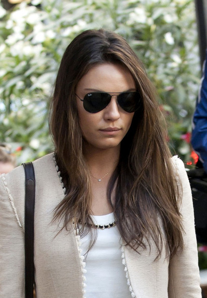 Mila Kunis Layered Cut