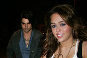 Miley Cyrus and Justin Gaston Photo