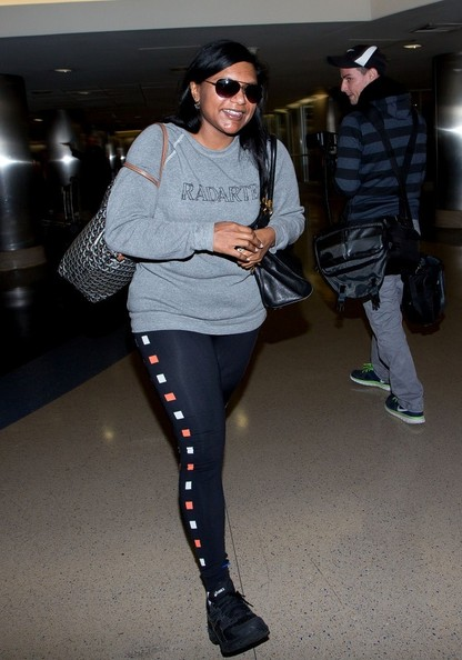 Mindy Kaling Crosstrainers