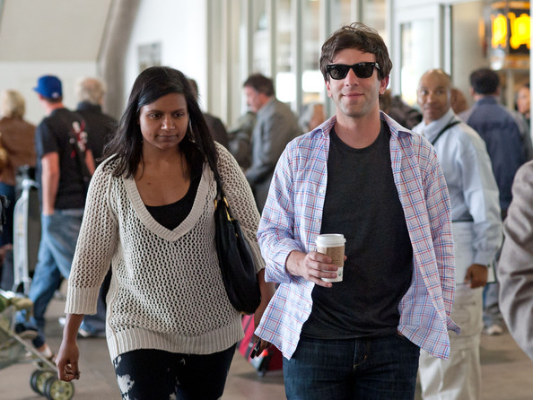 Mindy Kaling V-neck Sweater