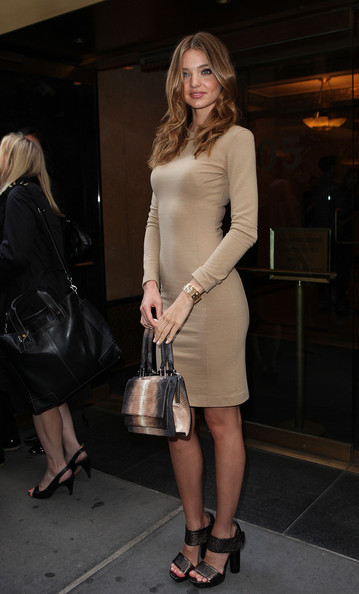Miranda Kerr Leather Purse []