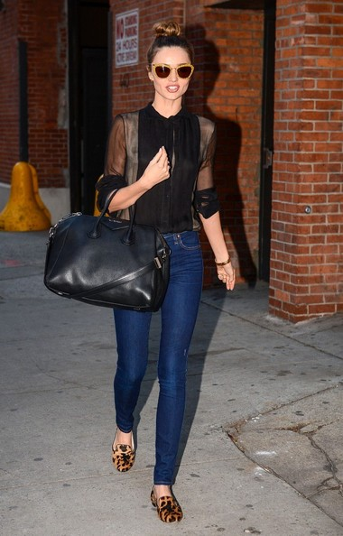 More Pics of Miranda Kerr Fitted Blouse (2 of 10) - Miranda Kerr Lookbook - StyleBistro