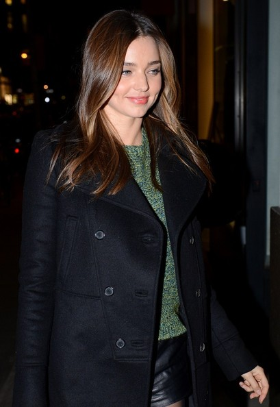 More Pics of Miranda Kerr Wool Coat (1 of 5) - Miranda Kerr Lookbook - StyleBistro