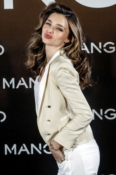 More Pics of Miranda Kerr Blazer (5 of 14) - Miranda Kerr Lookbook - StyleBistro