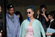 Katy Perry Is Pretty in Pastel at Miu Miu