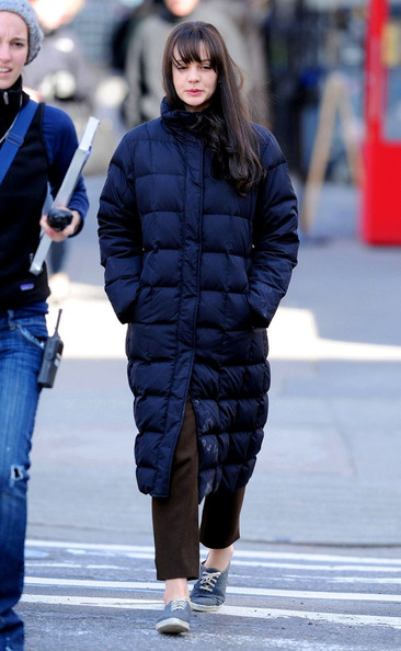 More Pics of Carey Mulligan Down Jacket (1 of 8) - Down Jacket Lookbook - StyleBistro