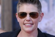 Natalie Maines Oval Sunglasses