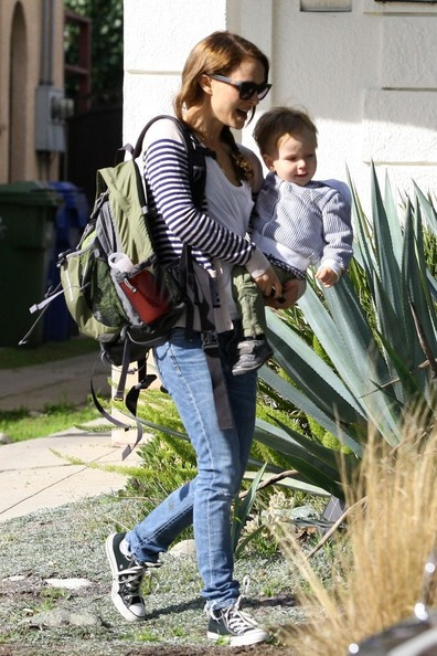 Natalie Portman and Aleph Out and About