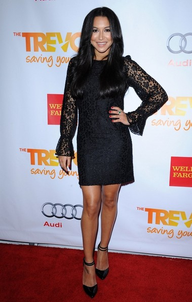 Naya Rivera Little Black Dress
