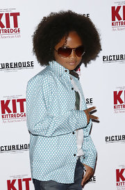 Jaden Smith looked every bit the budding style star in his stylish aviators at the premiere of 'Kit Kittredge: An American Girl.'