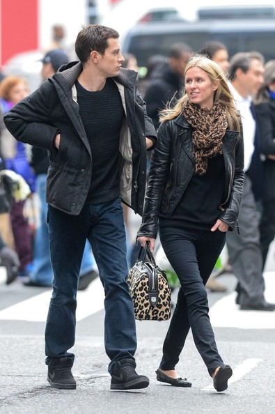 More Pics of Nicky Hilton Printed Bowler Bag (1 of 9) - Printed Bowler Bag Lookbook - StyleBistro