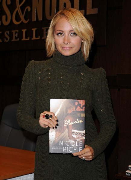 Nicole Richie Dark Nail Polish