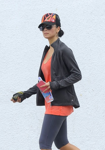 More Pics of Nicole Scherzinger Leggings (1 of 6) - Leggings Lookbook - StyleBistro