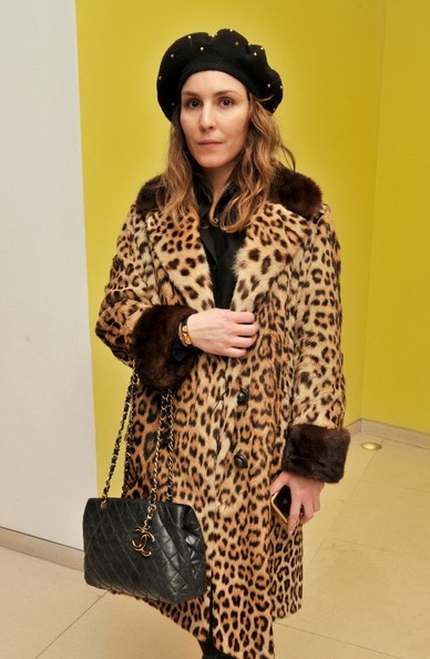 Noomi Rapace Quilted Leather Bag