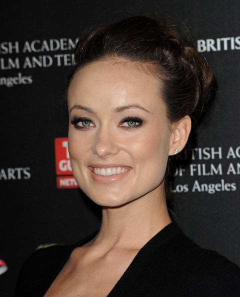 loose bun wedding hair. Olivia Wilde Loose Bun