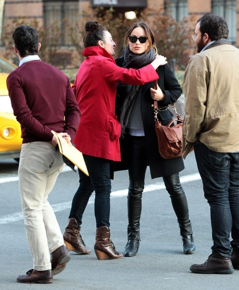 More Pics of Olivia Wilde Wool Coat (1 of 15) - Olivia Wilde Lookbook - StyleBistro
