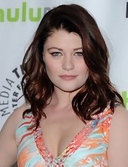 Emilie De Ravin showed off her auburn curls at the 'Once Upon a Time' event at PaleyFest.
