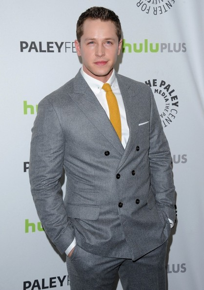 More Pics of Josh Dallas Men's Suit (1 of 7) - Men's Suit Lookbook - StyleBistro