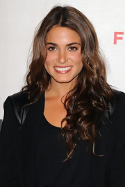 "Nikki Reed showed off her gorgeous brunette curls while hitting the ""Ondine"" premiere."