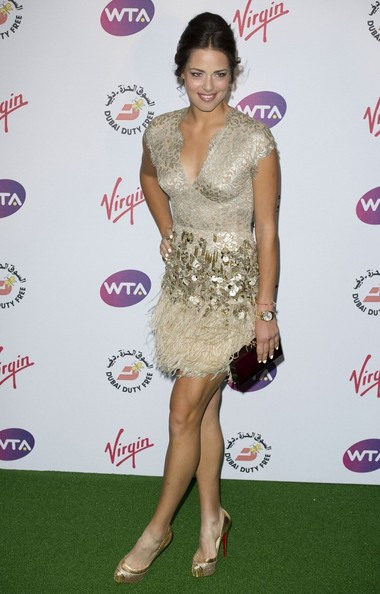 More Pics of Ana Ivanovic Retro Updo (1 of 3) - Ana Ivanovic Lookbook - StyleBistro