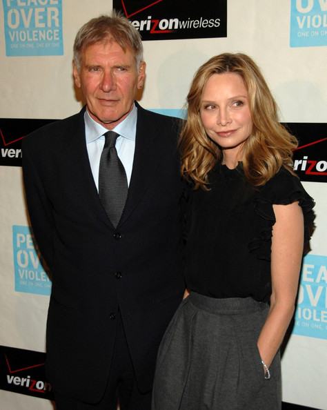 More Pics of Calista Flockhart Medium Wavy Cut (3 of 18) - Calista Flockhart Lookbook - StyleBistro