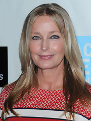 Bo Derek looked gorgeous at the Peace Over Violence Humanitarian Awards wearing her hair in a glossy center-parted 'do.