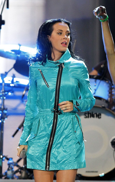 More Pics of Katy Perry Mini Dress (1 of 4) - Katy Perry Lookbook - StyleBistro []