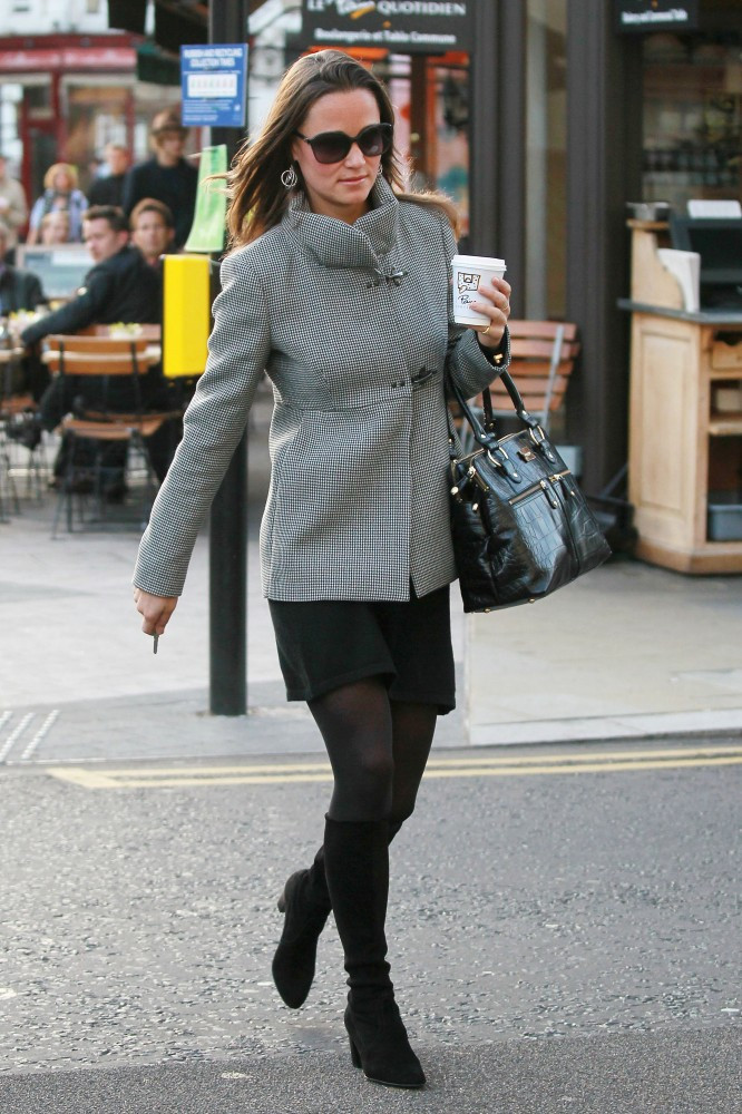 Pippa Middleton Knee High Boots Pippa Middleton Looks