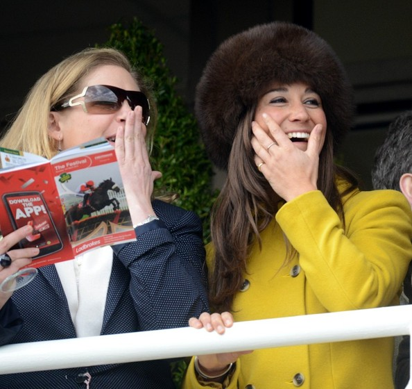 Pippa Middleton Goes to the Races