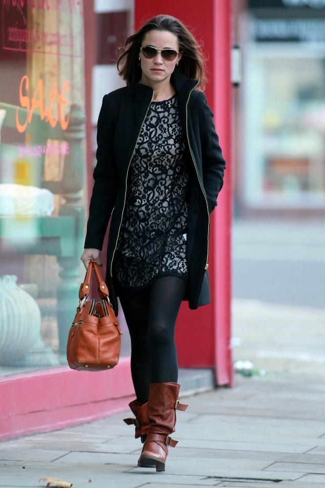 Winter Wonderful Pippa Middleton S Affordable Style
