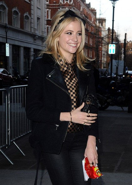 Pixie Lott Motorcycle Jacket