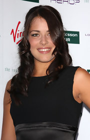 Ana Ivanovic channeled her inner goddess with this dramatic curly hairstyle during the pre-Wimbledon party.