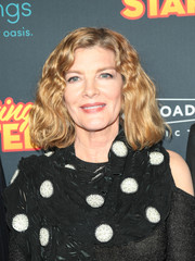 Rene Russo attended the premiere of 'Just Getting Started' wearing her hair in a wavy bob.