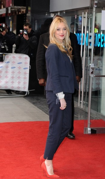 More Pics of Laura Whitmore Pantsuit (1 of 7) - Suits Lookbook - StyleBistro