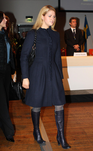 Princess Madeleine Knee High Boots []