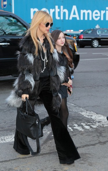 Rachel Zoe at Fashion Week in NYC