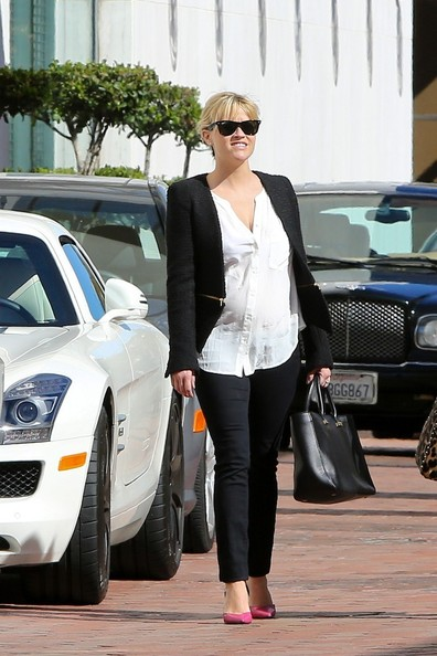 Reese Witherspoon Cropped Jacket