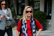 Reese Witherspoon Patterned Scarf