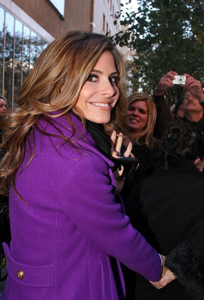 More Pics of Maria Menounos Long Curls (1 of 8) - Maria Menounos Lookbook - StyleBistro