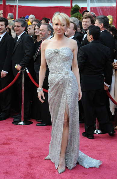 Renee Zellweger Beaded Dress