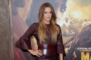 Riley Keough Leather Dress