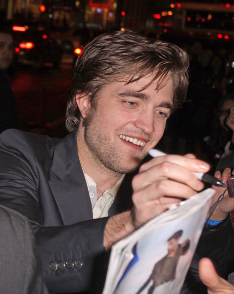 Robert Pattinson Short Side Part
