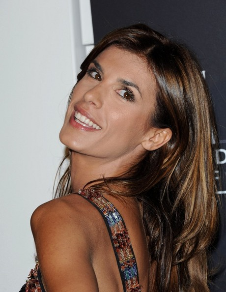 More Pics of Elisabetta Canalis Long Side Part (1 of 12) - Elisabetta Canalis Lookbook - StyleBistro
