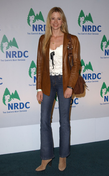 More Pics of Mira Sorvino Bootcut Jeans (1 of 2) - Mira Sorvino Lookbook - StyleBistro