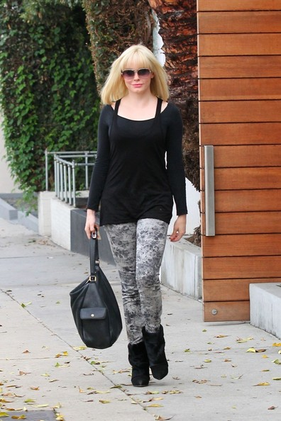 Rose McGowan Print Pants