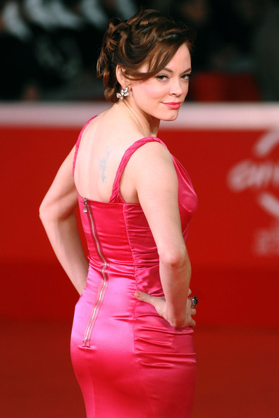 Rose McGowan Bobby Pinned Updo