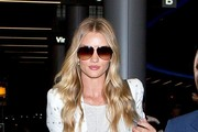 Rosie Huntington-Whiteley Designer Shield Sunglasses
