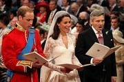 Michael Middleton and Prince William Photo