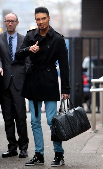 More Pics of Rylan Clark Trenchcoat (1 of 5) - Rylan Clark Lookbook - StyleBistro