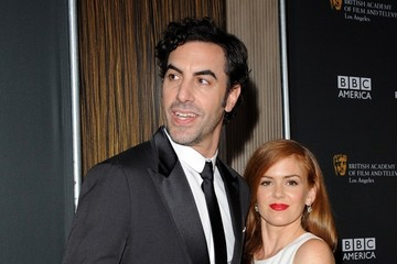 Sacha Baron Cohen Isla Fisher Stars at the BAFTA LA Britannia Awards